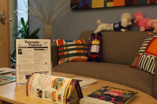 Table becomes a placeholder for school and community news