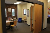 Directors office is accessible and easy to find near the school's entrance