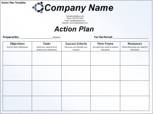 Action-Plan-Template